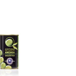 Aceitunas Manzanilla rellenas de anchoas