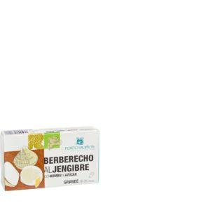 Berberechos al jemgibre con Kombu de azúcar Bio
